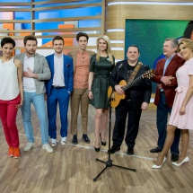 Игорь Саруханов в эфирной студии НТВ