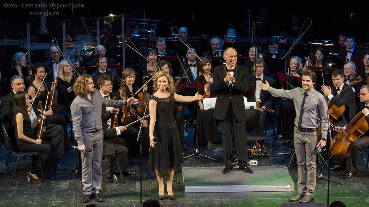 2013 г. Театрализованный концерт, посвященный 50-летию творческой деятельности Алексея Рыбникова в ММДМ. Фото - Светлана Мурси-Гудёж.
