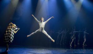 2014 г. Хореографическая драма Глазами клоуна театра Алексея Рыбникова. Фото - Светлана Мурси-Гудёж.