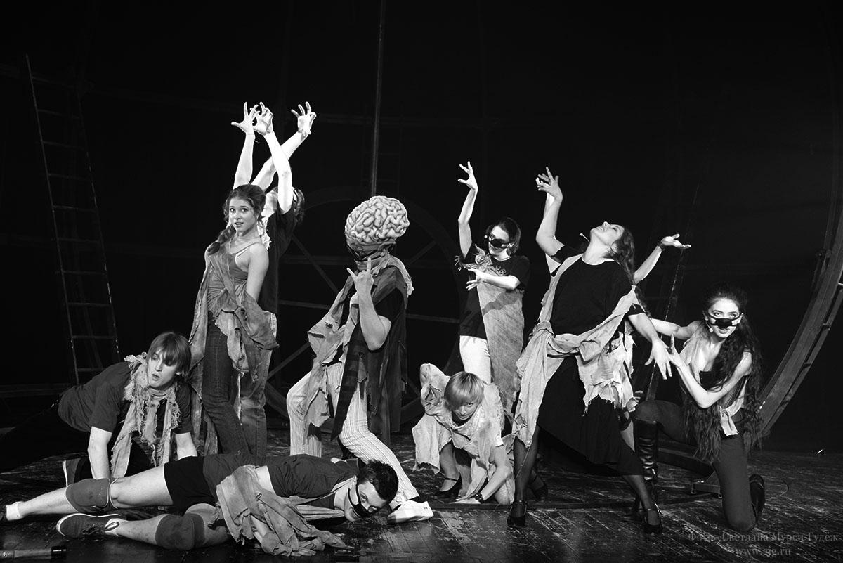 2015 г. Репетиции мюзикла Марка Розовского Кандид или Оптимизм. Часть 3. Фото - Светлана Мурси-Гудёж